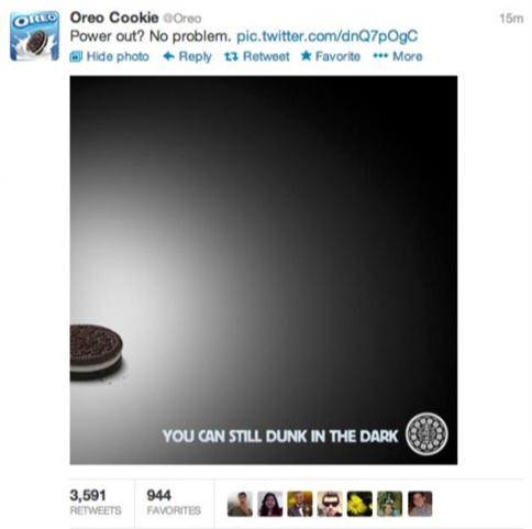 OREO - real time marketing