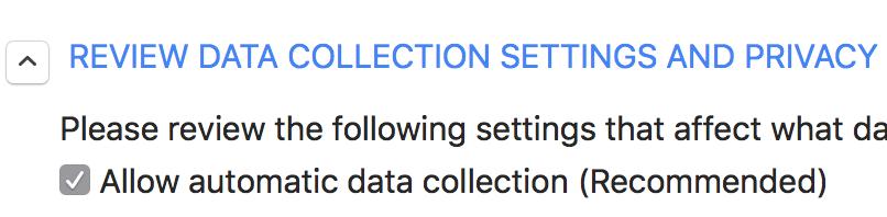 HP - Rekomendowana zgoda na zbieranie i wykorzystanie danych