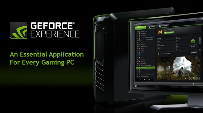 Geforce Experience NVIDIA