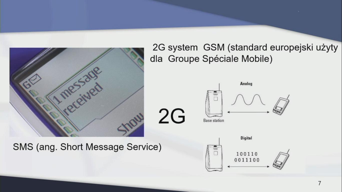 2G - system i technologia telekomunikacyjna