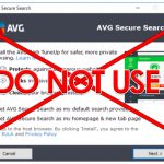 Do not use AVG