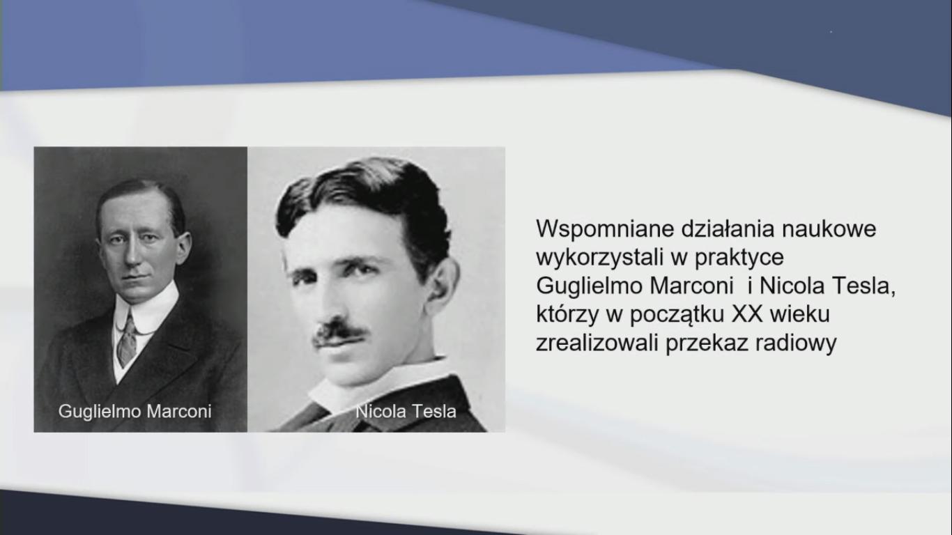 Marconi oraz Tesla