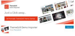 Theme Grill demo importer