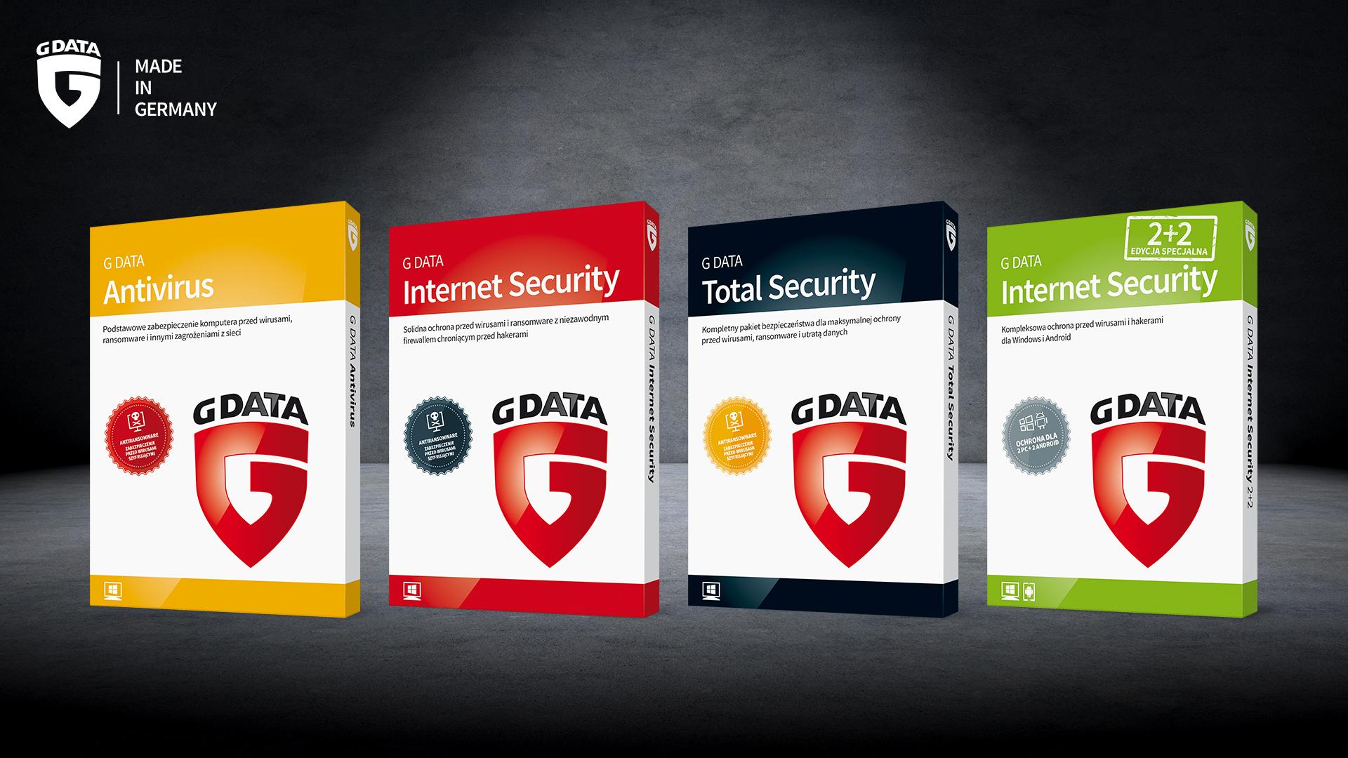 G-Data - linia produktów