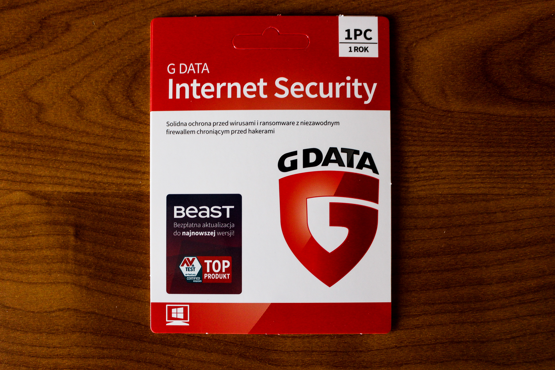 G DATA INTERNET SECURITY 1PC 1 ROK