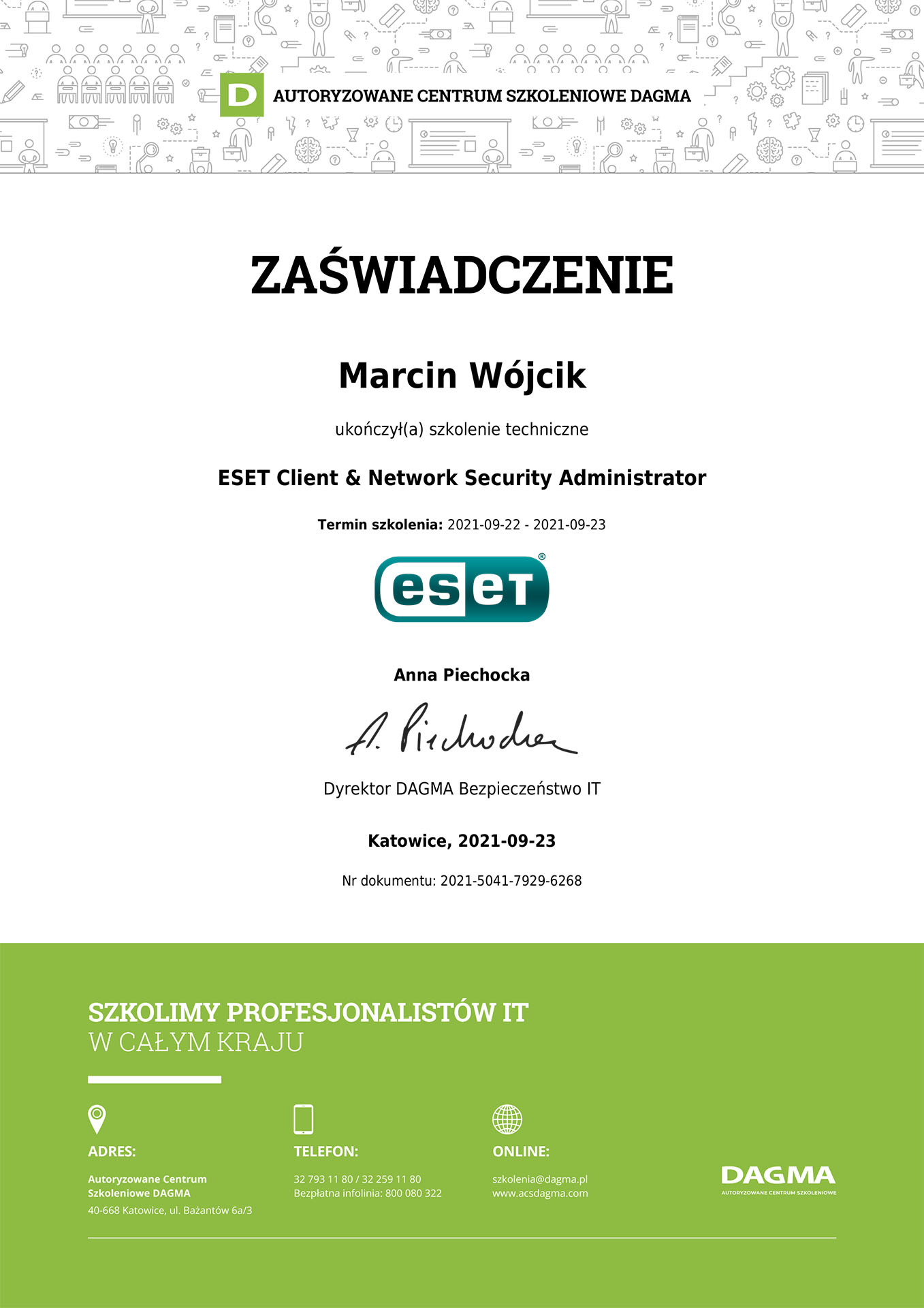 ESET Client & Network Security Administrator